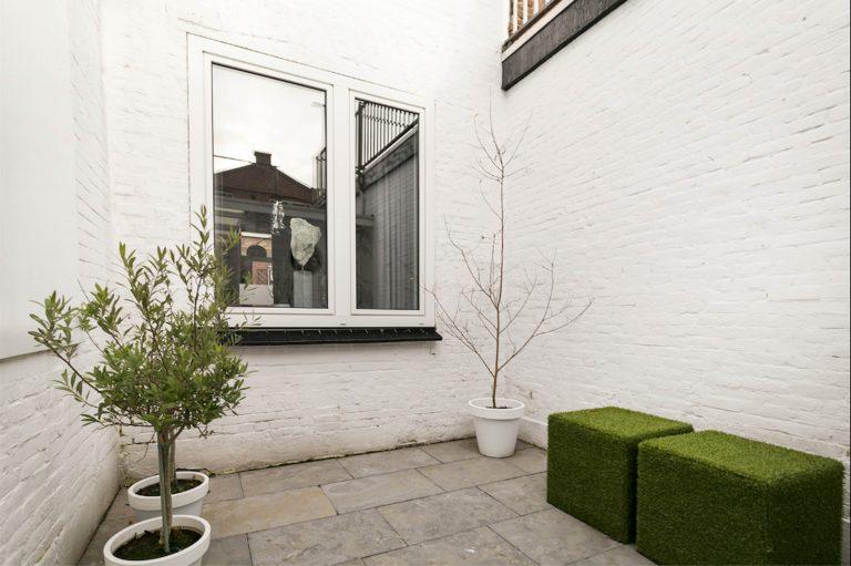 Interieurstyling Wilhelminastraat tuin 1 voor