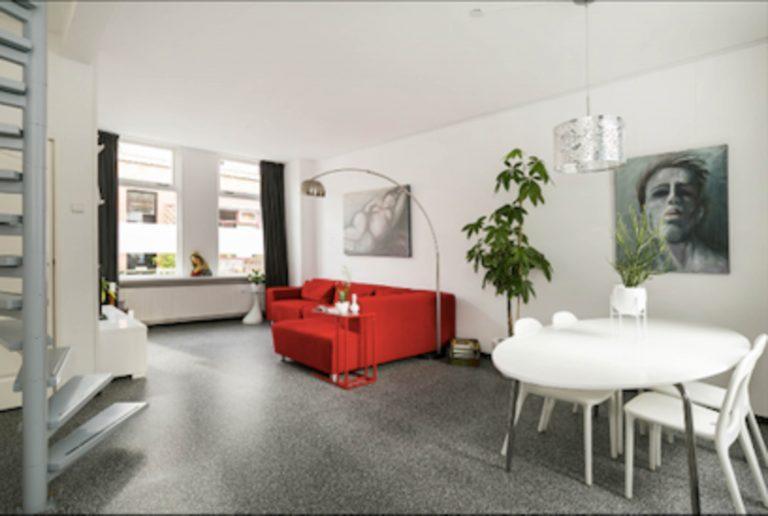 Interieurstyling Wilhelminastraat woonkamer 1 voor