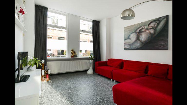 Interieurstyling Woonkamer Wilhelminastraat 2 voor